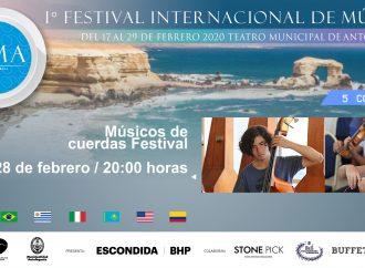 Conozca el programa del concierto del viernes Alumnos FIMA 2020