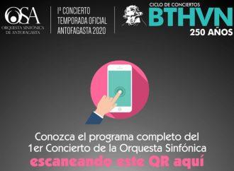 Descargue aquí el programa del 1er Concierto de la Orquesta Sinfónica