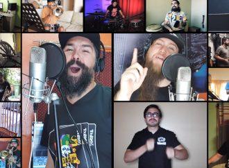 Un gran himno sobre unión y esperanza realizaron decenas de músicos nortinos en emotivo videoclip
