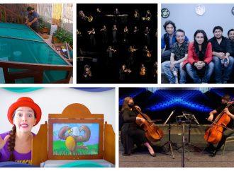 Imperdible: Conciertos internacionales y contenido cultural e infantil